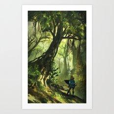 Faron Woods Art Print