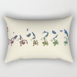 Capoeira 456 Rectangular Pillow