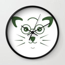 Pet design art illustration #society6 #decor #buyart #artprint Wall Clock
