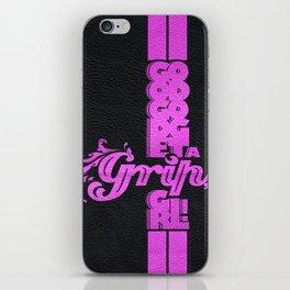 Good God get a grip, girl! iPhone Skin