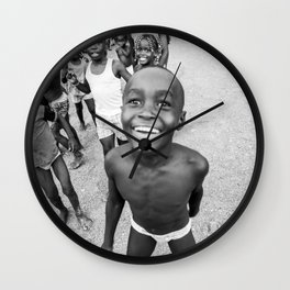 Niños Chocoanos Wall Clock
