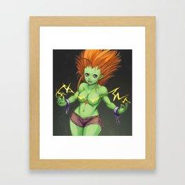 Blanka Girl Framed Art Print
