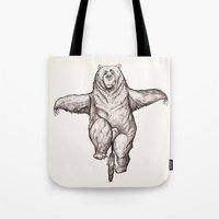 balance Tote Bags featuring Balance by Dave Mottram