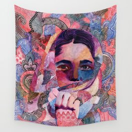 Speaking to Minds Wall Tapestry