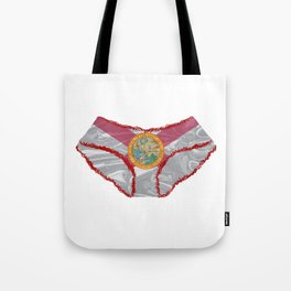 Florida Flag Knickers Tote Bag