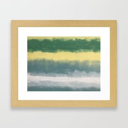 Stipes Framed Art Print