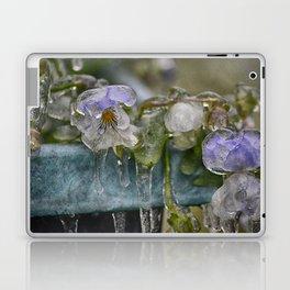 Pansies on Ice Laptop & iPad Skin