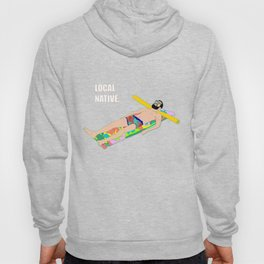 Local Native - Music Inspired Fan Cliche Digital Art Hoody