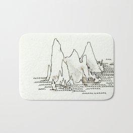 Mountains Bath Mat
