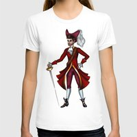 captain hook T-shirts featuring Captain Hook by Callie Clara