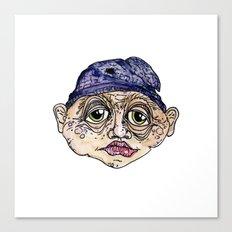 old man 3 Canvas Print