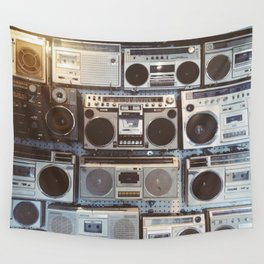 Boom boxes Wall Tapestry
