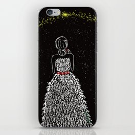 Wish Upon A Christmas Star iPhone Skin