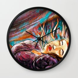 Ethereal Zone Wall Clock