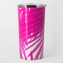 Palms Fuchsia Travel Mug