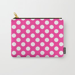 Lunares rosa Carry-All Pouch