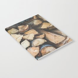Wood / Photography Print / Photography / Color Photography Notebook