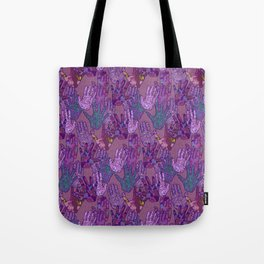Give Me 5 [Hand Prints] Tote Bag