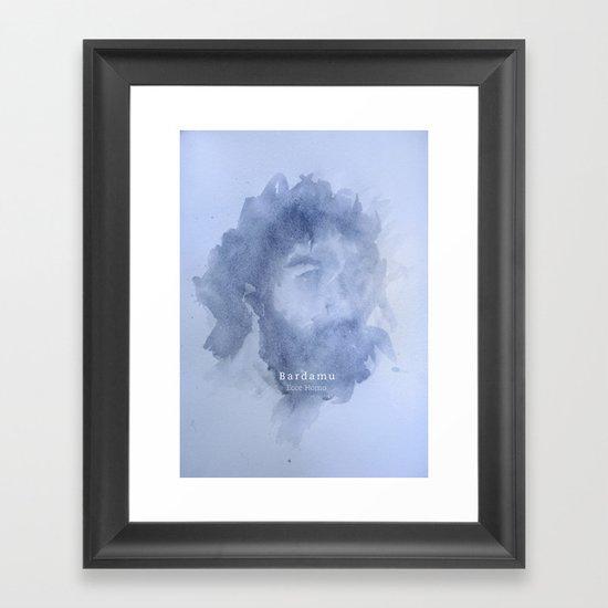 BARDAMU - Ecce homo Framed Art Print
