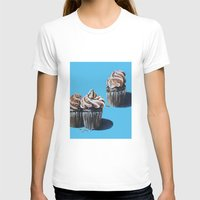 cupcakes T-shirts featuring Cupcakes by Jody Edwards Art