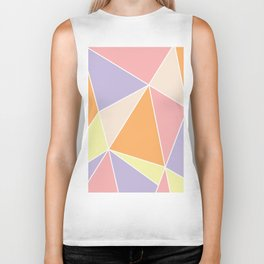 Candy Triangles Biker Tank