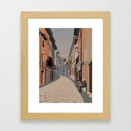 Camino de Santiago - Estella Framed Art Print