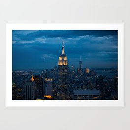 The night and the city Art Print