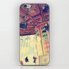 Up up and away! iPhone Skin