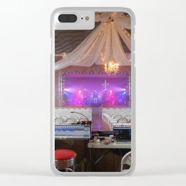 Preparing for a Concert Clear iPhone Case