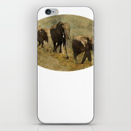 Beautiful Elephant Gift Walking iPhone Skin