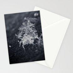 Macro Snowflake Stationery Cards