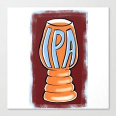 IPA Canvas Print