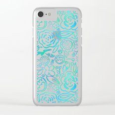 A Profusion of Flowers II Clear iPhone Case