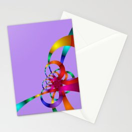 chaotic colors -1- Stationery Cards