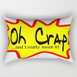 Oh Crap Rectangular Pillow