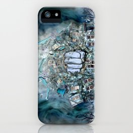 Violence iPhone Case