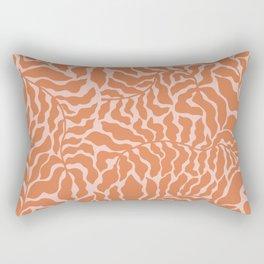 Abundance | Orange & Pink Rectangular Pillow