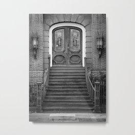 Meeting Street Door Metal Print