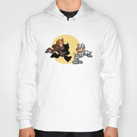 tintin Hoodies featuring Mega TinTin Man by 84Nerd