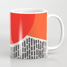 Sunshine And Rain Abstract Coffee Mug