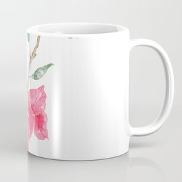 red  pink  bougainvillea watercolor Coffee Mug
