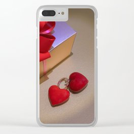 Love Gift and Valentine's Day Image Clear iPhone Case