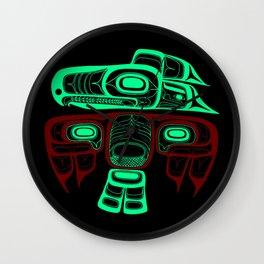 Native American style Tlingit Thunderbird Wall Clock