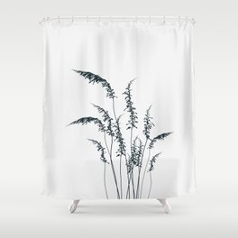 Wild grasses Shower Curtain