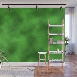 Vivid Green Foil Smooth Metal Texture Festive / Christmas Wall Mural