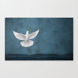Genesis 8:11 Canvas Print