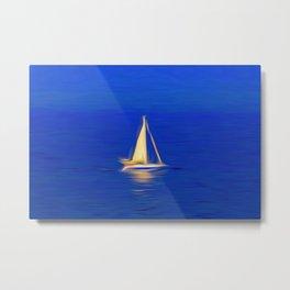 The Art Of Sailing Metal Print
