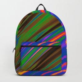 Philadelphia Gay Pride Rippling Satin Texture Backpack