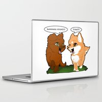 friendship Laptop & iPad Skins featuring Friendship by DyaniArt