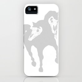 Horse(s) iPhone Case